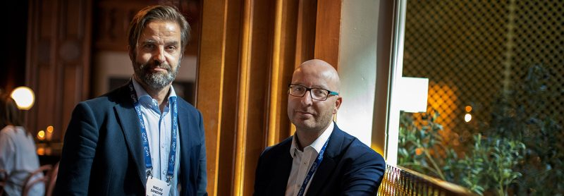 Fokusgruppsledare Niklas och Thomas