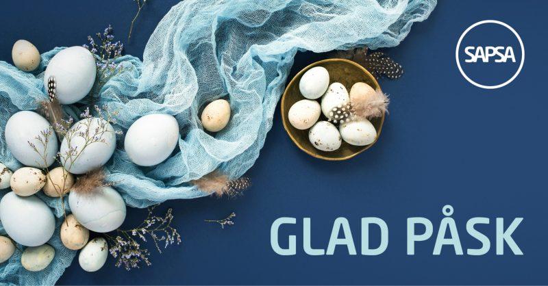 Glad påsk önskar SAPSA