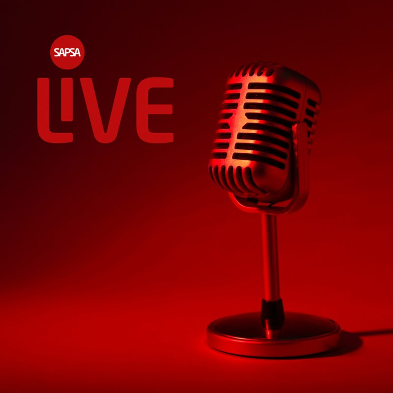 SAPSA live logo