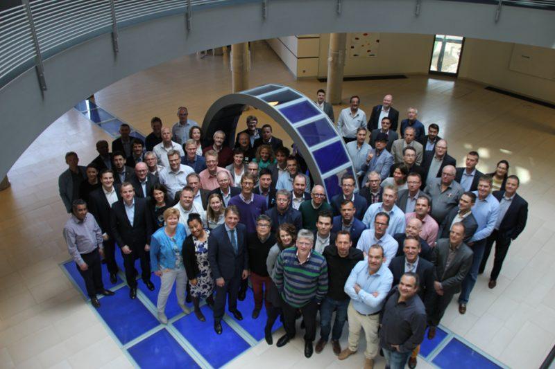 fokusgruppsledarna samlade hos SAP Walldorf